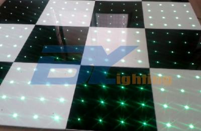 BY-D716 LED Wireless Black and White Dance Floors