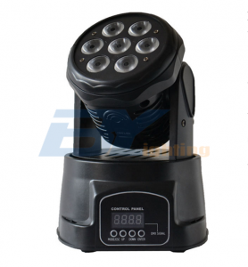 BY-9710W 7X10W RGBW 4in1 LED Mini Wash Moving head