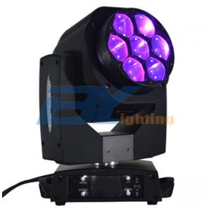 BY-9107 7x15W RGBW 4 in 1  B-eye Led Beam Zoom Moving Head