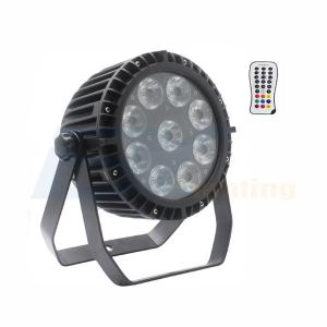 BY-849A IP65 9X8W RGBW 4in1 LED Wirelesss battery PAR(5in1/6in1 LED optional)