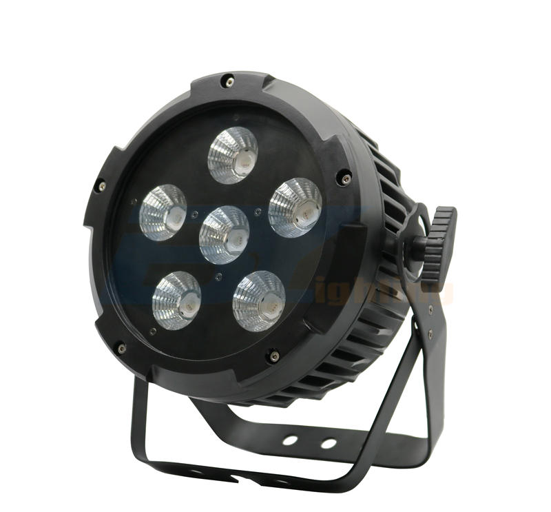 BY-3106 6X20W RGB 3in1 COB PAR (outdoor version optional)