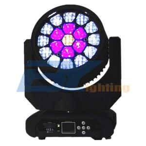BY-919B 19x12W LED RGBW Bee Eyes Beam Moving Head